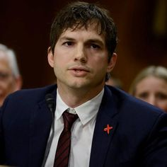 Ashton Kutcher Gives Emotional Testimony At Hearing To End Modern Slavery /Human Trafficking