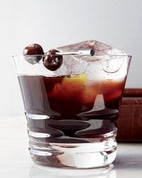 Kentucky Special. interesting bourbon cocktail with lapsang souchong tea and cherry liqueur