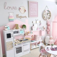 49 Splendid Diy Playroom Kids Decorating Ideas is part of Toddler playroom Having a kids playroom has many benefits To begin with, you& have a charming and pleasant environment where your little - Playroom Design, Playroom Decor, Bedroom Decor, Bedroom Ideas, Playroom Color Scheme, Kids Decor, Wall Decor, Toddler Playroom, Kids Playroom Ideas Toddlers