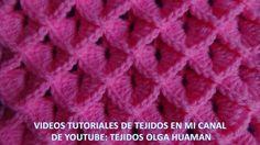 punto cocodrilo tejido a crochet