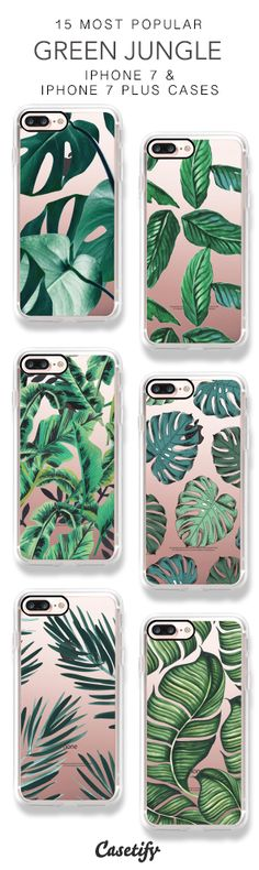 15 Most Popular Green Jungle iPhone 7 Cases & iPhone 7 Plus Cases here > https://www.casetify.com/collections/top_100_designs#/?vc=ig3Avtx5TM