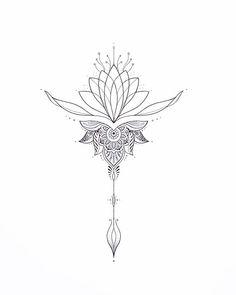 Tattoo cover up? Cute Tiny Tattoos, Mini Tattoos, Beautiful Tattoos, Small Tattoos, Lotus Tattoo Design, Tattoo Designs, Mandala Sternum Tattoo, Line Art Tattoos, Wedding Tattoos