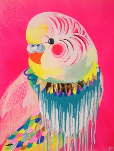 cockatoo painting by fleur - Google Search