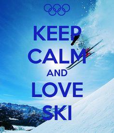 keep calm and love ski - Google zoeken