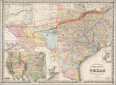 Richardson - 1878 - Richardson's New Map of Texas