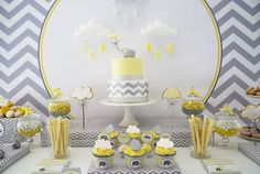 66 Best Yellow And Gray Elephant Baby Shower Theme Ideas Images