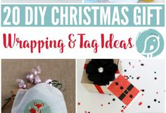 Wrapping Gifts – 20 Gift Wrap & Tag Ideas