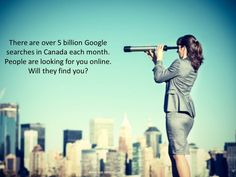 People are looking for you on-line. Will they find you?