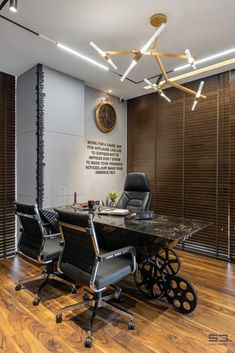 An Office Space with Visual Connectivity and Framed Compositions : The Metal and Tool Project   Sparc Design - The Architects Diary Office Decor, Backyard, Space, Metal, Architects, Projects, Room, Composition, Furniture