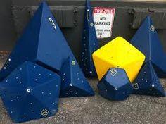 Geometric climbing volumes.