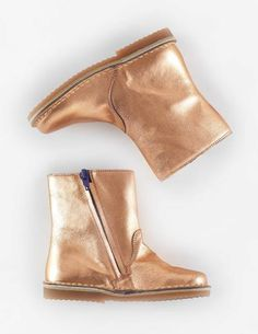 Short Leather Boots  from mini Boden (also in blue-green & pink)