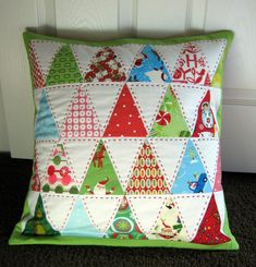 pretty!   by eupohoria on flickr @ modern quilt guild