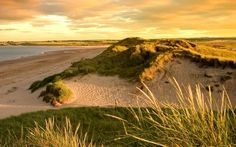 Beadnell, Northumberland | It sees a handful of tourists in the summer months but during most of the year Beadnell's beach is unadulterated emptiness. There are more people on the water - windsurfing, canoeing, and surfing - than there are among the dunes.
