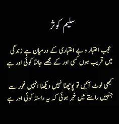 Poetry Quotes In Urdu, Best Urdu Poetry Images, Urdu Poetry Romantic, Urdu Quotes, Mixed Feelings Quotes, Poetry Feelings, Silent Words, Famous Poets, Punjabi Poetry