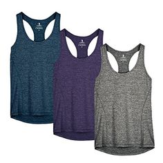 √ Banded crew neckline make sure it's stretchy and tag-free neck label offers you more comfort √ Racerback style with bound edges and flatlock seams √ Heathered Workout running yoga fitness tank top Yoga Shorts, Yoga Pants, Yoga Fitness, Fitness Wear, Workout Fitness, Running Tank Tops, Workout Tank Tops, Bleu Royal, Trousers