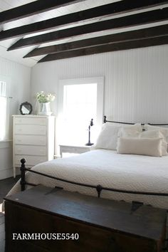 FARMHOUSE 5540: Our Master Bedroom Part One