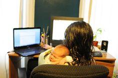 É o sonho de muitasmulheres: trabalhare, ao mesmo tempo…