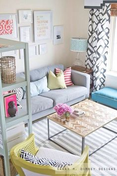 DIY Striped Painted Rug In About Hours Love The Feel Of This Very Light Weight And Comforting Looking For Color Schemes Inspiration My Apartment