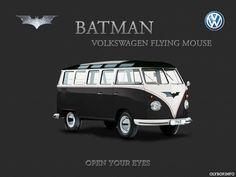 BATMAN, SPIDERMAN, SUPERMAN – SI LES SUPER HÉROS ROULAIENT EN COMBIS VOLKSWAGEN