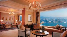 Island Shangri-La, Hong Kong. Rated 9.1
