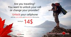 Need to unlock your cell? www.MobileInCanada.com is the largest cellphone unlocking service in Canada. Since 2005, 3.5 million mobile phones were unlocked around the country. Security/Reliable/ Affordable/Fast/For life. For a free Sim card, visit  www.Distribu-Sim.ca ___ #Canada #unlock #Mobile #phone #cellphone #unlocked #Security #Reliable #Affordable #Fast #free #Sim Free Sims, Mobiles, Canada, Traveling By Yourself, Mobile Phones, Country, Business, Life, Rural Area
