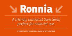 Ronnia - Webfont & Desktop font « MyFonts