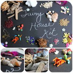 More fairy house fun - diy fairy house kits!