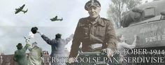 General Stanislaw Maczek. Na de oorlog konden veel Poolse soldaten niet terugkeren naar Communistisch Polen. Waar de Communisten hen vervolgen om hun strijd als bondgenoten van het Westen. (Dat was echt zo!). Daardoor bleven er veel vergeten achter in Engeland en een kleiner aantal in Nederland. Stanislaw Maczek moest als bediende in een pub in Schotland in zijn onderhoud voorzien. Na zijn dood (102 jaar oud!) werd hij, volgens zijn wenst, begraven op het Poolse ereveld in Breda - de stad…