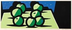 Apples / Patrick Caulfield  #repetition