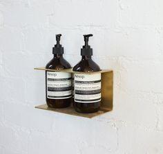 Ev Truck, Bathroom Inspo, Soap Dispenser, Wine Rack, Make It Yourself, Small Toilet, Aesop, Diy, Store