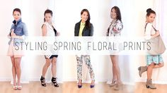 5 Ways to Style Fun Floral Prints: Fashion Lookbook