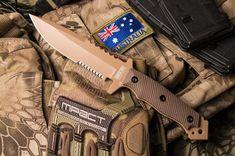 Hardcore Hardware MFK-04G2 DGC Gen 2 Tactical Knife Desert Tan Brown Kydex MFK04 in Sporting Goods, Outdoor Sports, Camping & Hiking   eBay #tacticalknife