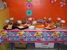 DIY Lalaloopsy 5th Birthday Party | CatchMyParty.com