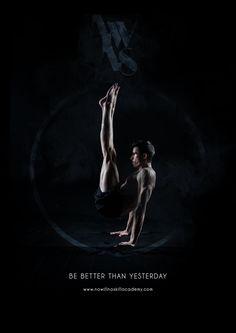 Advertising campagne for gym No Will No Skill Academy, Bratislava, Slovakia  #Linda #Vlachova #graphic #design #add #advertising #campagne #teaser #gym #black #citylight #poster #workout #martial #art #gymnastics #handstand #slovakia #bratislava #street #Milan #Benedikovic