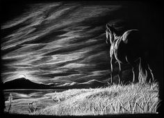 10  Beautiful Landscape Drawings for Inspiration, http://hative.com/landscape-drawings/,