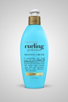 OGX website - moroccan curling perfection defining cream