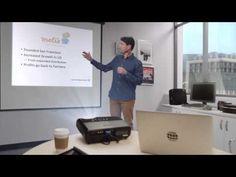 Entertaining look at how presentation technology has changed over the years. A promo for using Prezi in place of PowerPoint for business presentations.