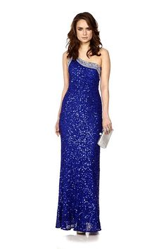 Sparkle in the mind blowing Sapphire gown by Jovani! This wondrous gown is perfect for a black tie event or anywhere you want to dazzle. Hire for £90 here: http://www.wishwantwear.com/dress-hire/jovani/1265-sapphire-gown.html