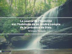 La source de l'humilité