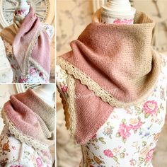 Sjalet er strikket i kauni effektgarn. Det pyntet med heklet blonde langs nederste kant.  Oppskrift i nettbutikken.  #crochet #knitting #knitandcrochet #hækling #sjal #knitshawl #diy #handcrafted #håndlavede #håndarbeid #stricken #strickideen #strikkedilla #strikking #småstrikk #virka #hobby #madebyme #norwegians #shalw Most Beautiful Pictures, That Look, Fashion, Moda, La Mode, Fasion, Fashion Models, Trendy Fashion