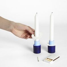 Field Candlestick Set