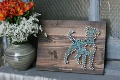 Pit Bull LOVE Art  Upcycled Wood Transformed by TheGnakedGnome, $45.00