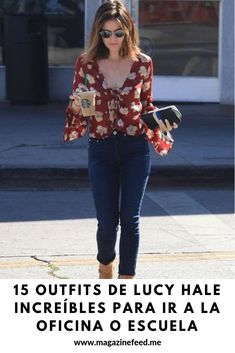 #Outfits #LucyHale #increíbles #Oficina #Escuela Lucy Hale, Pretty Little Liars, Plaid, Outfits, Tops, Women, Style, Fashion, Office Clothing