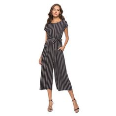 de1d124b442 wide leg pants women plus size jumpsuit striped summer 2018 black loose rompers  womens jumpsuit one piece overalls cotton