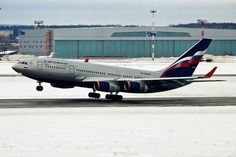 Aeroflot Ilyushin Il-96 take-off | Vasily Kuznetsov | Flickr