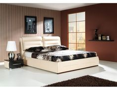 Product Dimensions: Height: 107 cm Width: 159 cm Length: 220 cm Available dimensions: Width: 179 cm Width: 199 cm Bed without mattress Material - faux leather Material - fabric Wide selection of fabrics, leather and colours Relax, Bed Without Mattress, King Size Bed Frame, Beds For Sale, Black Bedding, King Beds, Luxury Bedding, Apollo, Modern Beds