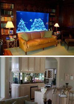 Aquarium A New Inspiration To Decorate House Interior Antique