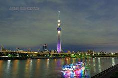 東京スカイツリー ライトアップ 雅