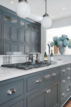 31 Best Blue Gray Kitchen Cabinets Images Home Decor Paint Colors
