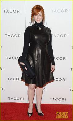 Christina Hendricks: Tacori 'City Lights' Jewelry Launch!